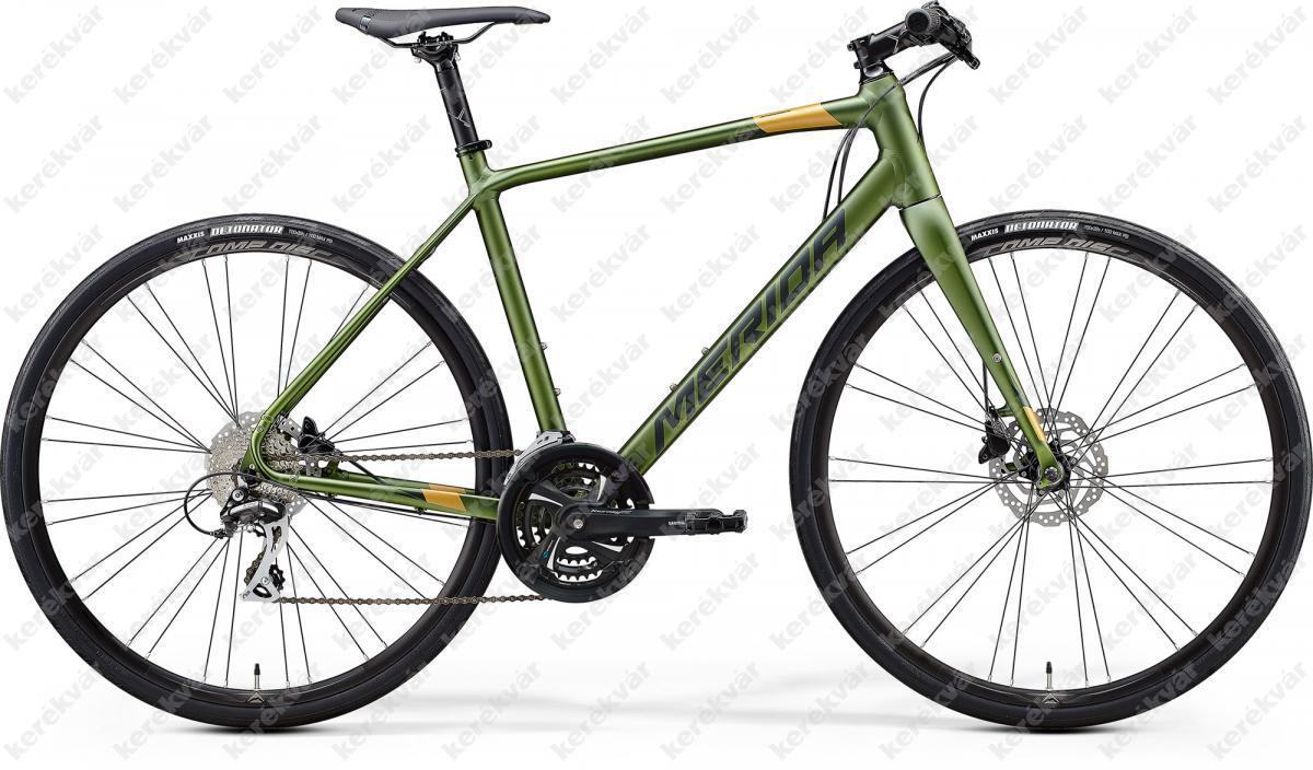 Merida Speeder 100 fitness kerékpár zöld 2020