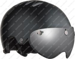 Armor Pin + LED fejvédő matt fekete 2020   Kép