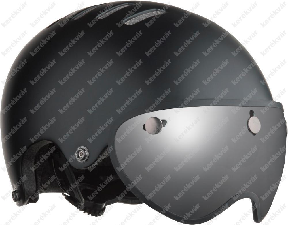 Lazer Armor Pin + LED fejvédő matt fekete 2020