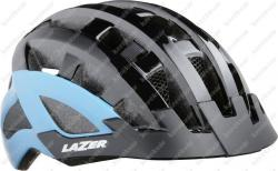 Compact DLX fejvédő fekete/kék 2020   Kép