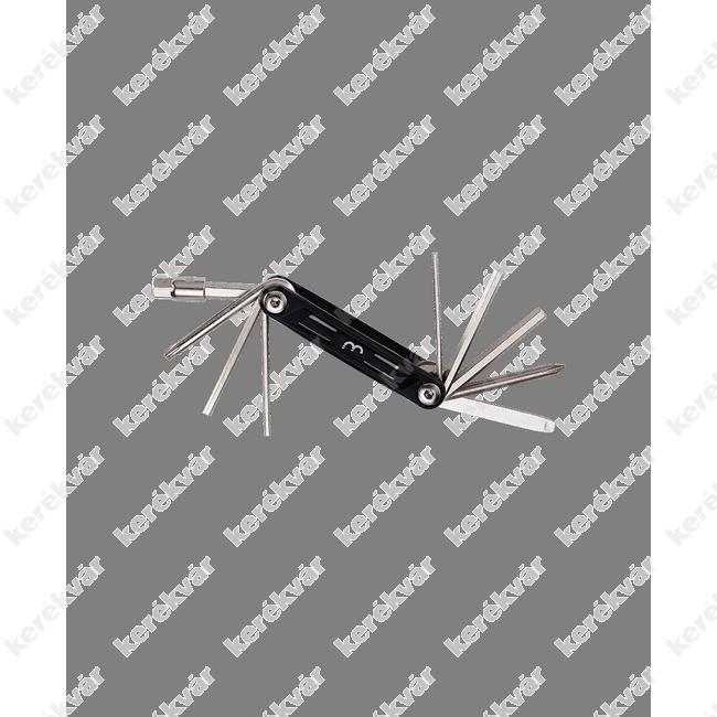 BBB Maxifold S 10 multifunckiós szerszám fekete