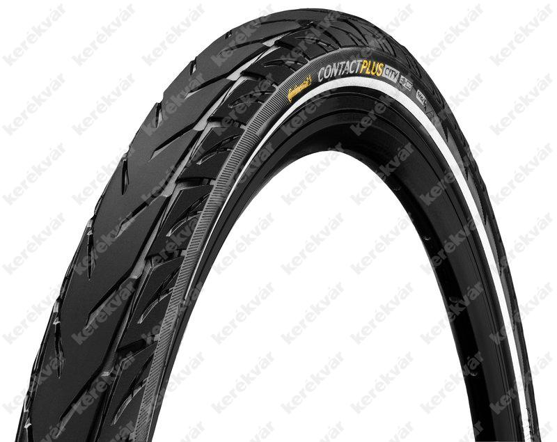 "Continental Contact plus city 584 MTB 27,5"" tyre black Reflect"