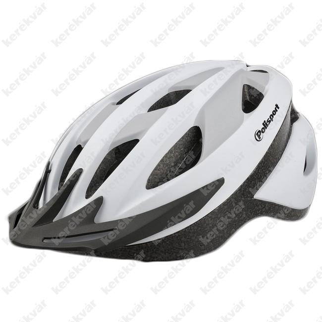 Polisport Sport Ride fejvédő fehér/szürke