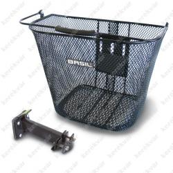 Bremen kosár handlebar mount black  levehető  Image