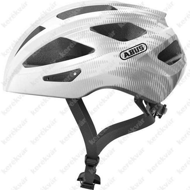 Abus Macator helmet white/silver