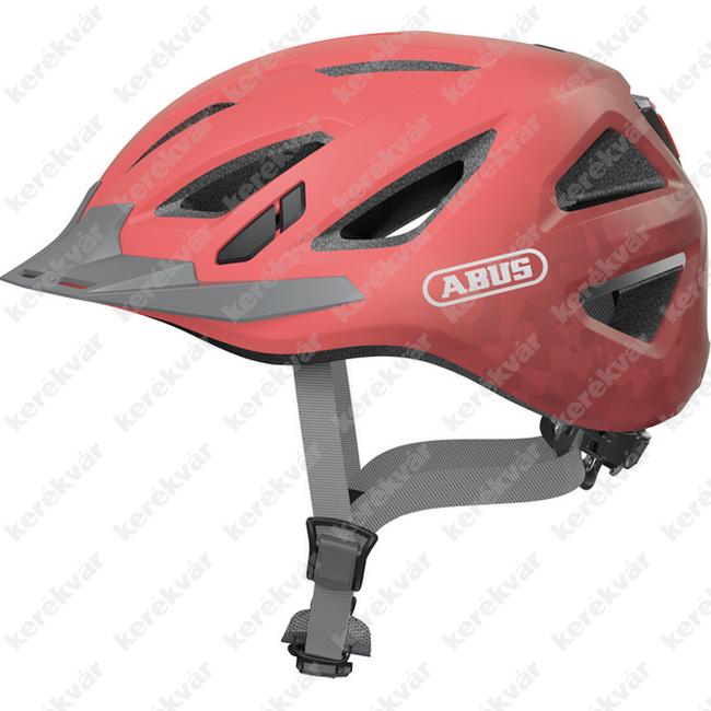 Abus Urban-I 3.0 fejvédő koral piros