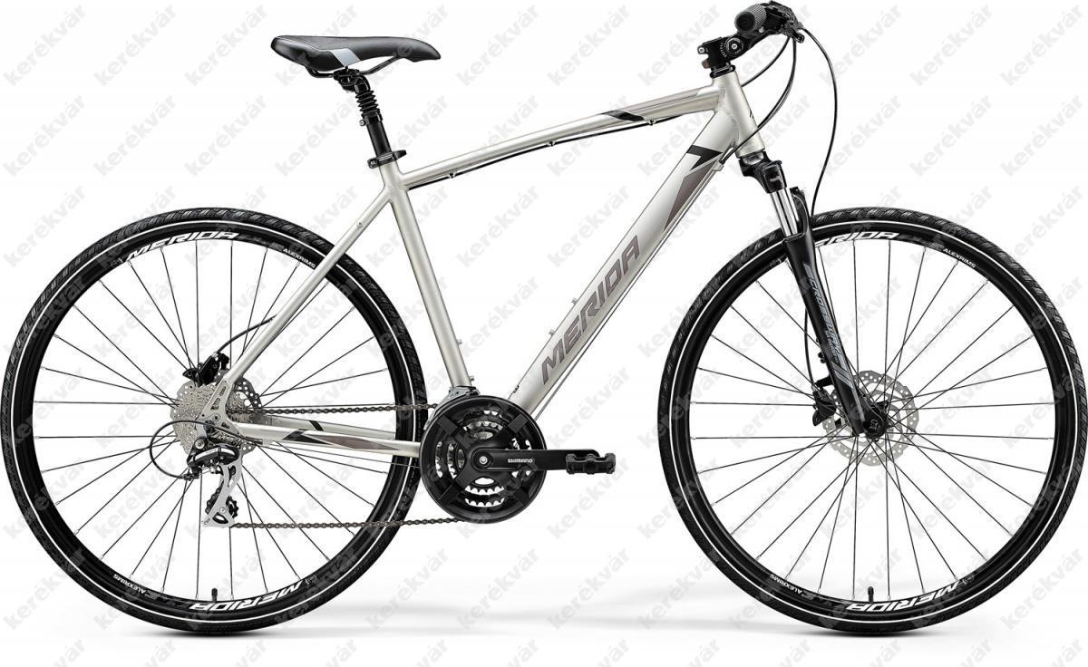 Merida Crossway 20D Cross Trekking kerékpár titán/fekete 2020