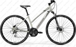 Crossway 20D Cross Trekking bicycle woman's titanium/black 2020  Image