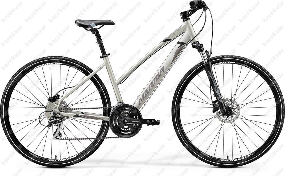 Merida Crossway 20D Cross Trekking kerékpár női titán/fekete 2020