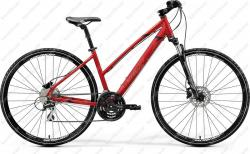 Crossway 20D Cross Trekking bicycle woman's deep red 2020  Image