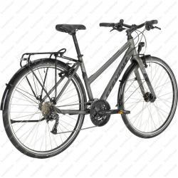 4X light Tour kerékpár női fekete 2020  Kép