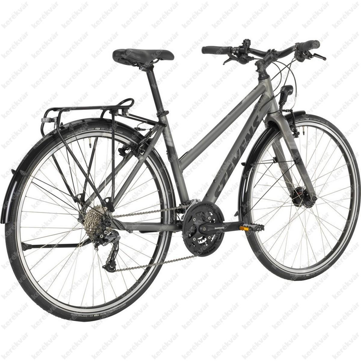 Stevens 4X light Tour kerékpár női fekete 2020