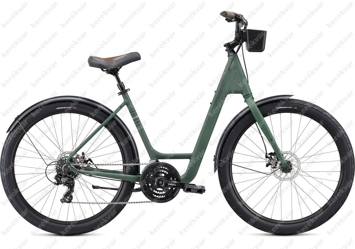 Specialized Roll Sport EQ Low Entry bicycle green 2020