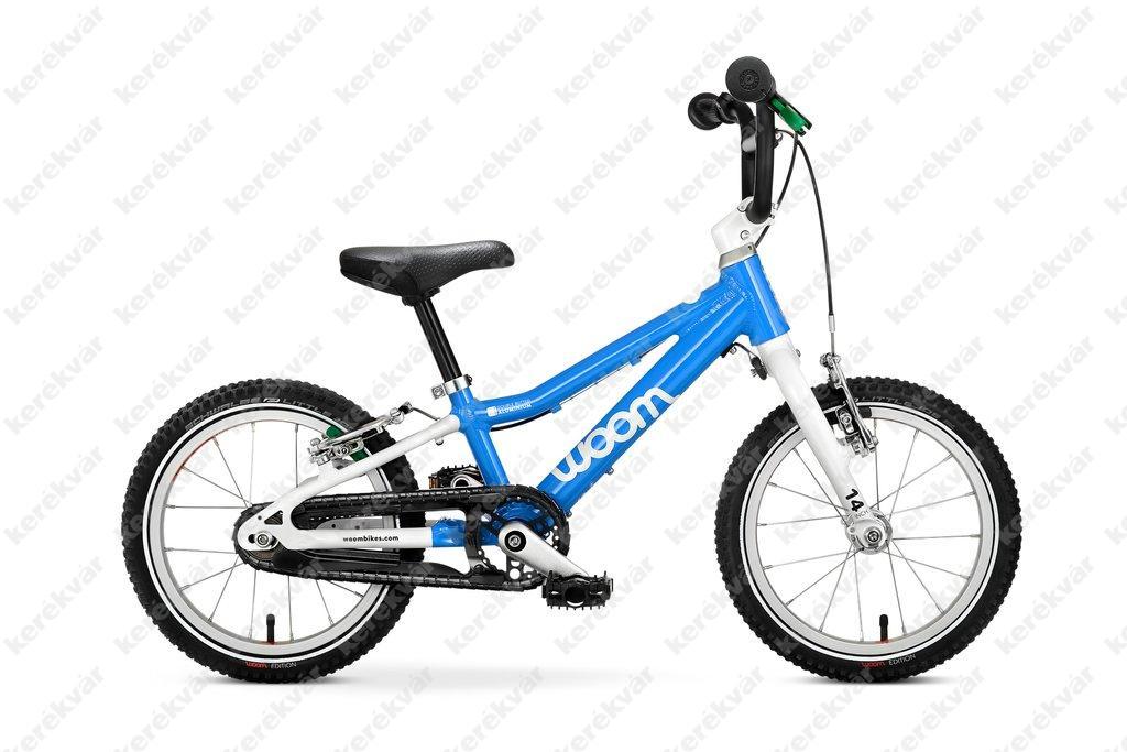 Woom 2 gyermek kerékpár kék 2020