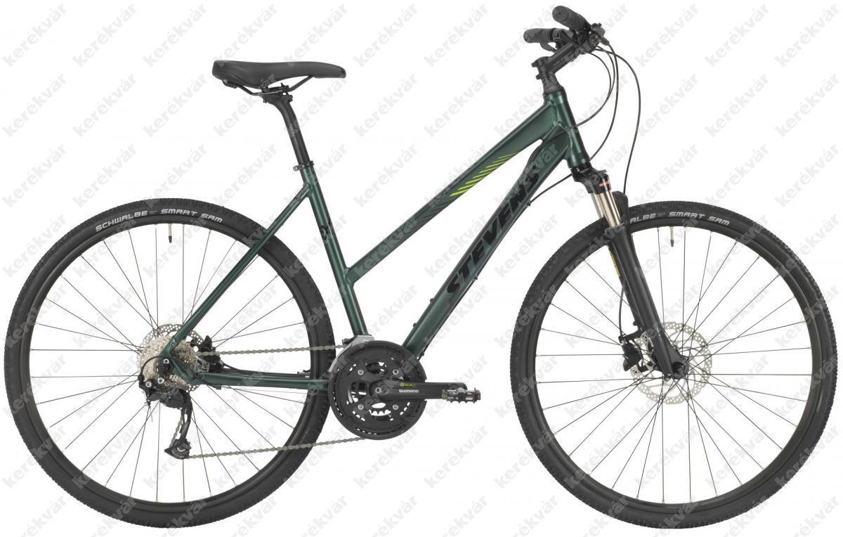Stevens 5X bicycle woman's green 2021