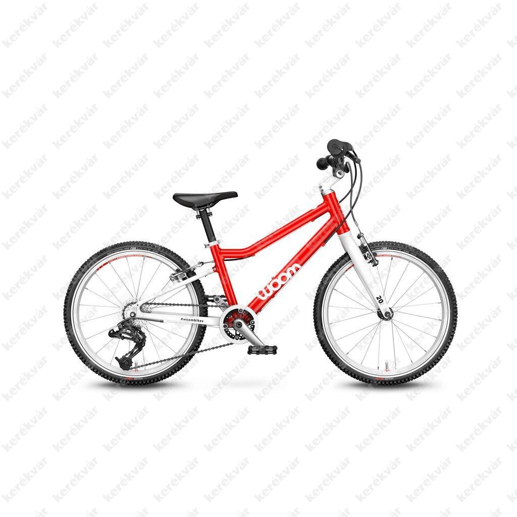 Woom 4 gyermek bicycle red 2021
