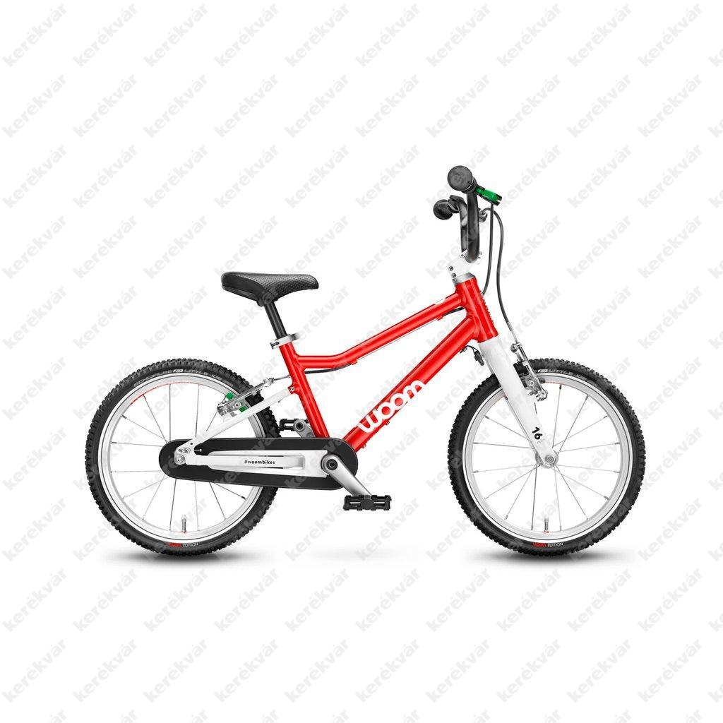 Woom 3 gyermek bicycle red 2021