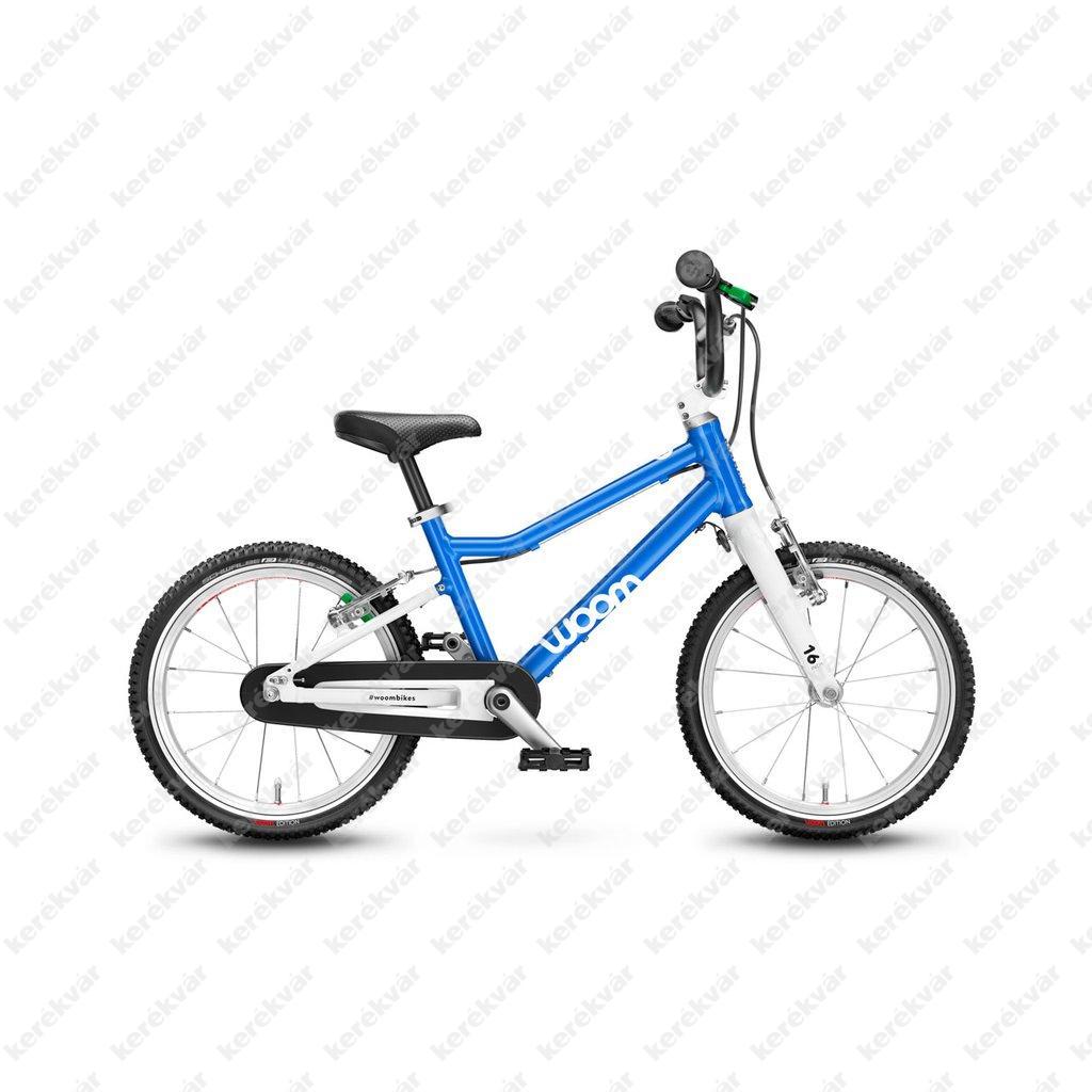 Woom 3 gyermek bicycle blue 2021