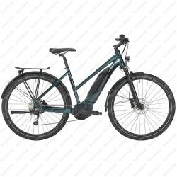 E-4X Tour bicycle woman's green 2021   Image