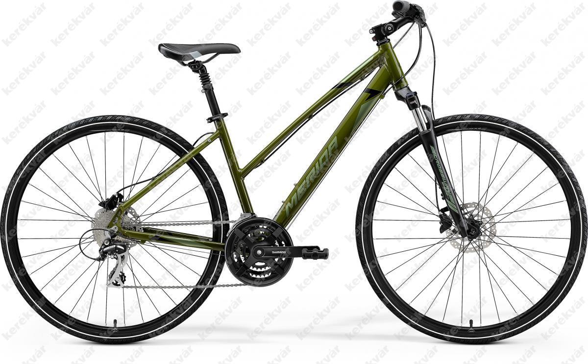 Merida Crossway 20 Cross Trekking kerékpár női zöld 2021
