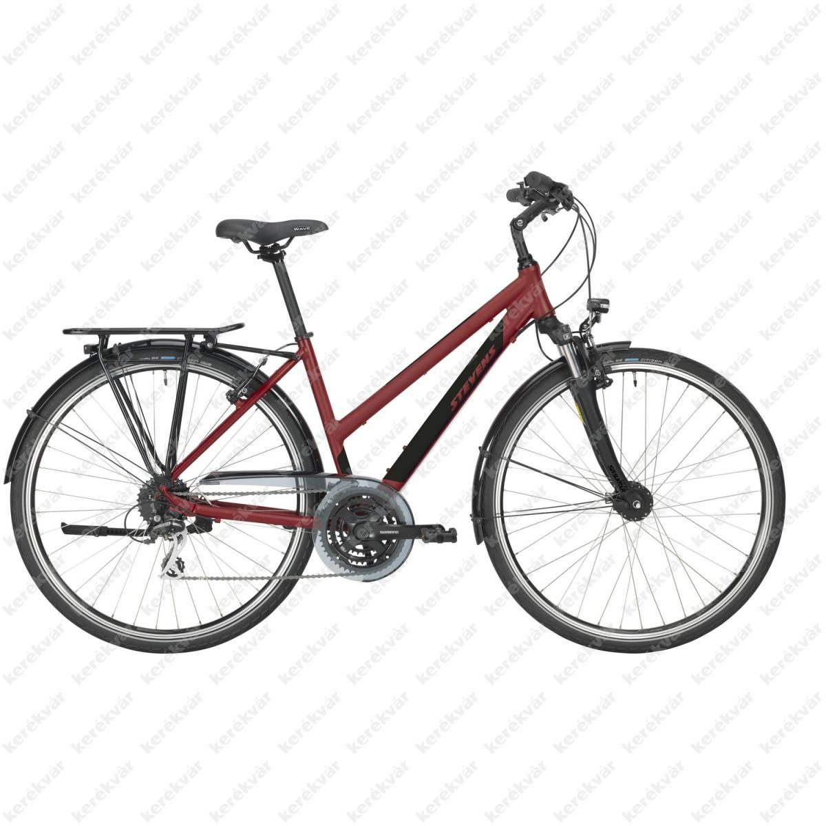 Stevens Albis bicycle woman's deep red 2021
