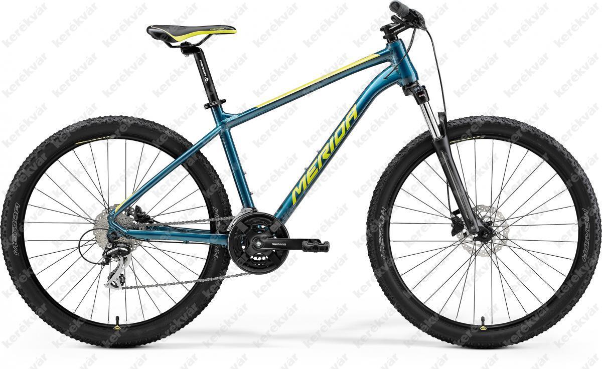 "Merida Big-seven 20 MTB 27,5"" bicycle blue-green 2021"