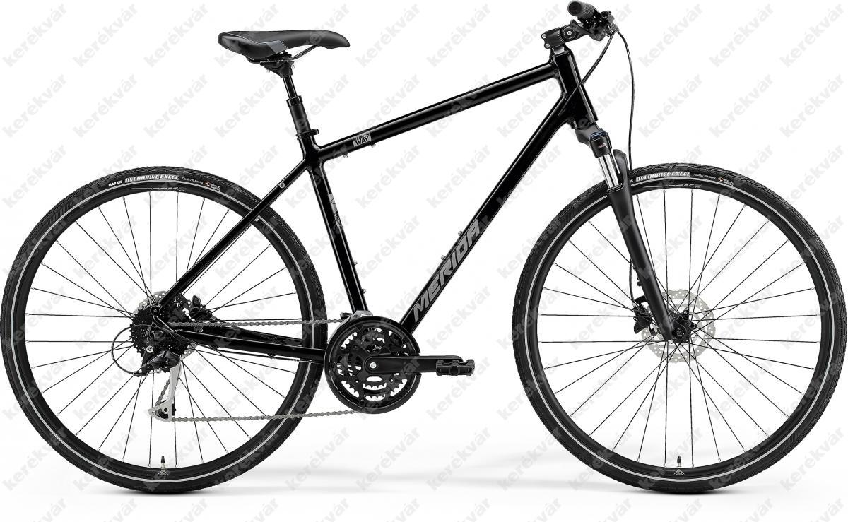 Merida Crossway 100 Cross Trekking bicycle men black 2021
