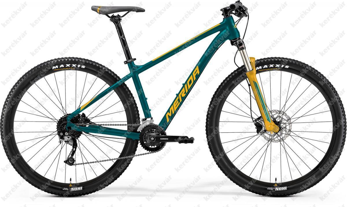 """Merida Big-nine 200 MTB 29"""" bicycle green 2021"""