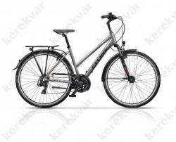 Area trekking bicycle woman's silver Image